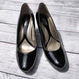 Naturalizer Comfort Black Patent Leather Heels